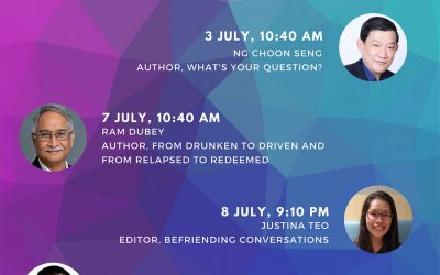 Authors on CNA938 (July-August 2020)