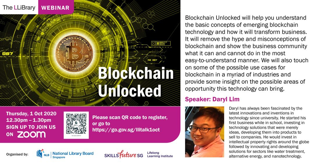 Book Talk: Blockchain Unlocked