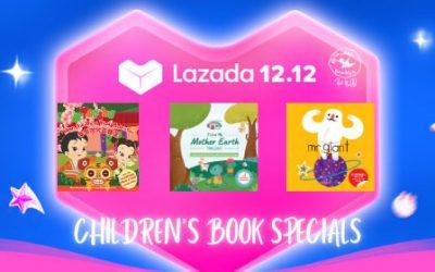 Lazada 12.12 Book Sale