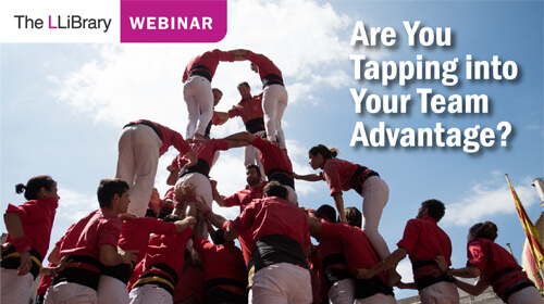 Are You Tapping into Your Team Advantage? | The LLiBrary Lunchtime Talk