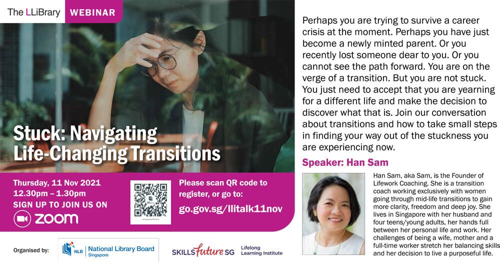 Stuck: Navigating Life-Changing Transitions